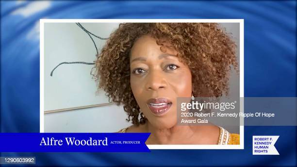 In this screengrab, Alfre Woodard speaks at the 52nd annual Robert F. Kennedy Ripple of Hope Award gala, honoring courageous human rights defenders...