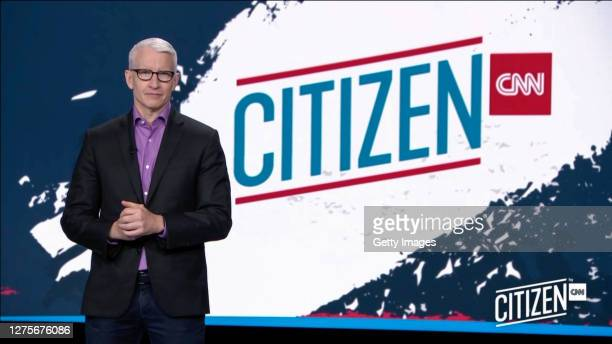 In this screengrab Anderson Cooper speaks during the CITIZEN by CNN 2020 Conference on September 22, 2020 in UNSPECIFIED, United States.