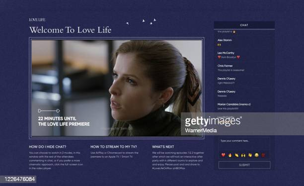 In this screengrab Anna Kendrick as 'Darby Carter' is seen during the virtual premiere of HBO MAX's Love Life on May 21 2020
