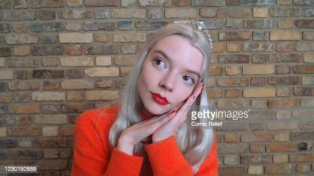 In this screengrab, Anya Taylor-Joy plays Cinderella during the Cinderella: A Comic Relief Pantomime for Christmas. Olivia Colman leads a stellar...