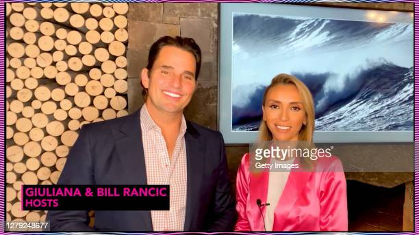 In this screengrab Bill Rancic and Giuliana Rancic speak during The Pink Agenda's Virtual Gala on October 08, 2020 in UNSPECIFIED, United States -...