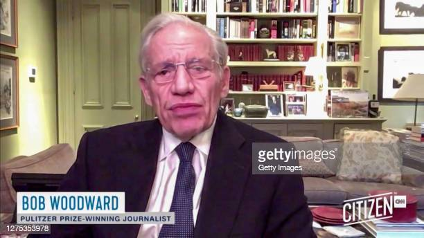 In this screengrab Bob Woodward speaks during the CITIZEN by CNN 2020 Conference on September 22, 2020 in UNSPECIFIED, United States.