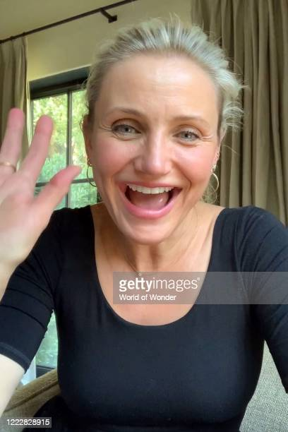 "In this screengrab, Cameron Diaz speaks during ""RuPaul's Digital DragCon"" presented on May 3, 2020. DragCon LA 2020 was scheduled to take place at..."