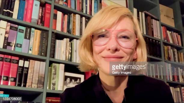 In this screengrab, Cate Blanchett performs during the BAM Virtual Gala 2020 on May 13, 2020.
