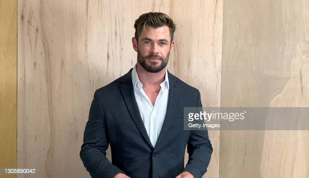 In this screengrab, Chris Hemsworth speaks at the 26th Annual Critics Choice Awards on March 07, 2021.