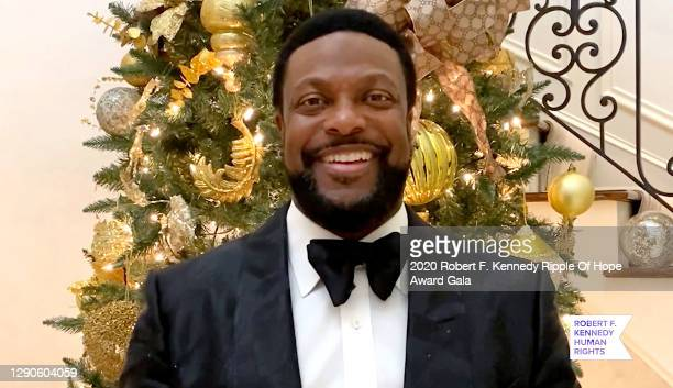 In this screengrab, Chris Tucker speaks at the 52nd annual Robert F. Kennedy Ripple of Hope Award gala, honoring courageous human rights defenders on...
