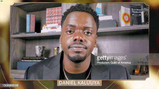 In this screengrab, Daniel Kaluuya speaks during the 32nd Annual Producers Guild Awards on March 24, 2021.