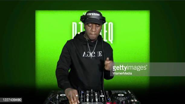 In this screengrab DJ MikeQ spins during the Virtual Premiere of HBO MAX's Legendary on May 26 2020