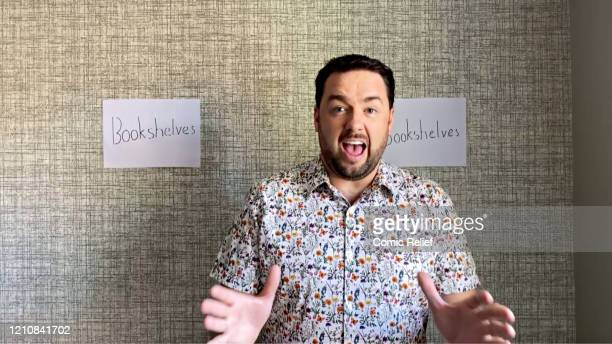 In this screengrab Jason Manford takes part in the BBC Children In Need and Comic Relief 'Big Night In at London on April 23 2020 in London...