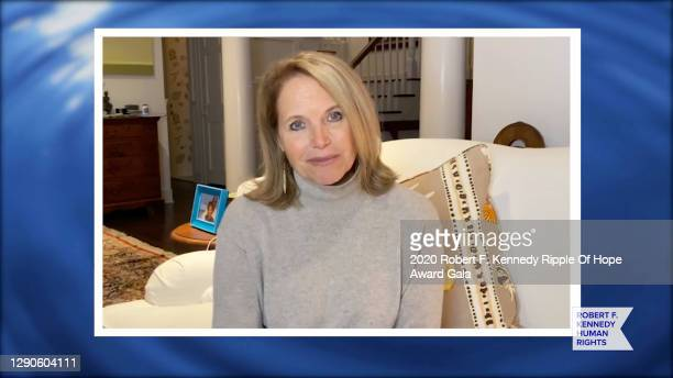 In this screengrab, Katie Couric speaks at the 52nd annual Robert F. Kennedy Ripple of Hope Award gala, honoring courageous human rights defenders on...