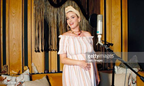 In this screengrab Katy Perry performs during SHEIN Together Virtual Festival to benefit the COVID19 Solidarity Response Fund for WHO powered by the...