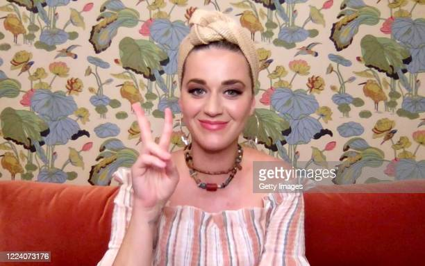 In this screengrab Katy Perry speaks during SHEIN Together Virtual Festival to benefit the COVID – 19 Solidarity Response Fund for WHO powered by the...