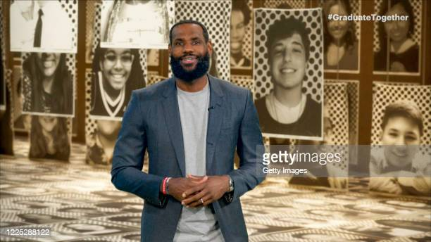 In this screengrab LeBron James speaks during Graduate Together America Honors the High School Class of 2020 on May 16 2020