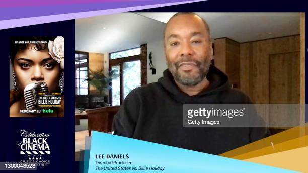 In this screengrab, Lee Daniels speaks at the Critics Choice Association's Third Annual Celebration of Black Cinema on February 02, 2021.