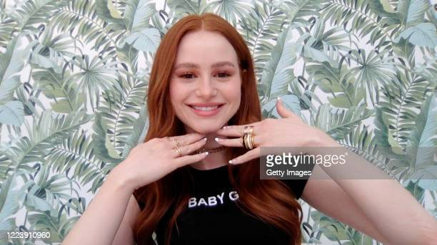 In this screengrab, Madelaine Petsch speaks during SHEIN Together Virtual Festival to benefit the COVID – 19 Solidarity Response Fund for WHO powered...