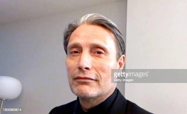 In this screengrab, Mads Mikkelsen speaks at the 26th Annual Critics Choice Awards on March 07, 2021.