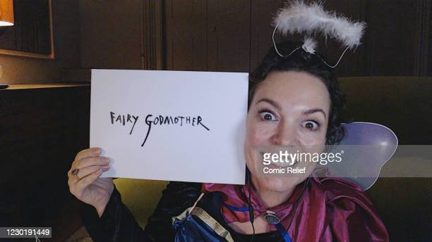 In this screengrab, Olivia Coleman plays the Fairy Godmother during the Cinderella: A Comic Relief Pantomime for Christmas. Olivia Colman leads a...