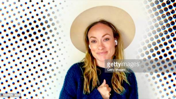 In this screengrab, Olivia Wilde speaks during Graduate Together: America Honors the High School Class of 2020 on May 16, 2020.
