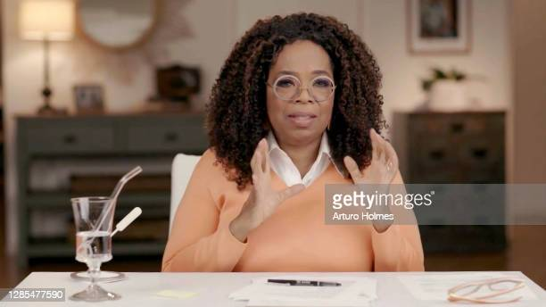In this screengrab, Oprah Winfrey speaks during the GCAPP EmPOWER Party & 25th Anniversary Virtual Event on November 12, 2020 in UNSPECIFIED, United...