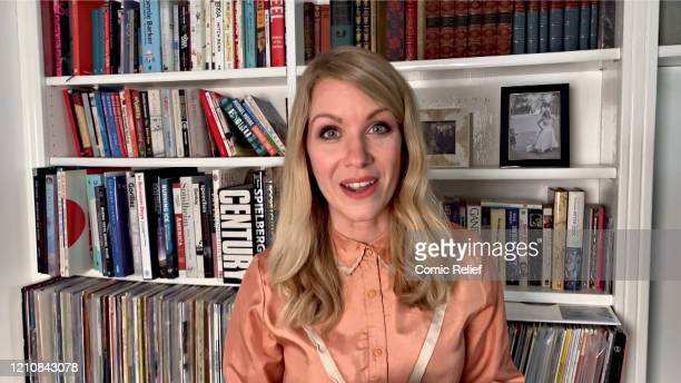 In this screengrab Rachel Parris takes part in the BBC Children In Need and Comic Relief 'Big Night In at London on April 23 2020 in London England...
