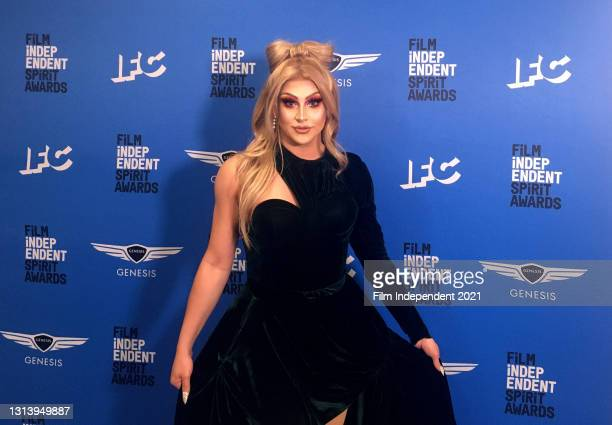 In this screengrab released on April 22, Jan attends the 2021 Film Independent Spirit Awards Virtual Karaoke After Party online.