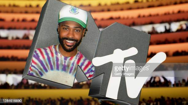 In this screengrab released on November 08, Big Sean presents the award for Best Hip Hop at the MTV EMA's 2020. The MTV EMA's aired on November 08,...