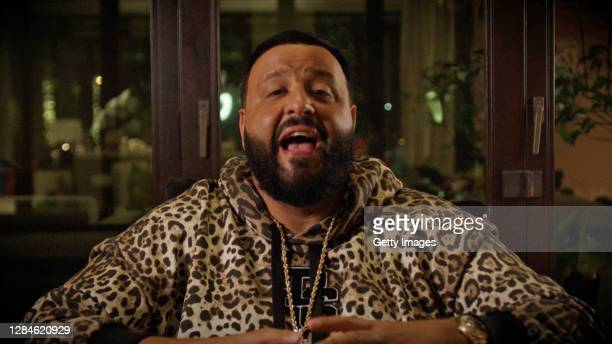In this screengrab released on November 08, DJ Khaled accepts the win for Best Video at the MTV EMA's 2020. The MTV EMA's aired on November 08, 2020.