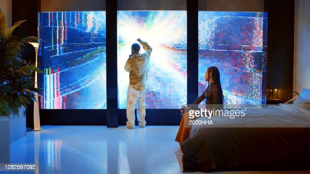 In this screengrab released on October 27, Big Sean and Jhené Aiko perform for the BET Hip Hop Awards 2020.