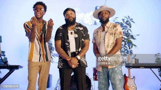 In this screengrab released on October 27, DC Young Fly, Chico Bean, and Karlous Miller of 85 South, speak during the BET Hip Hop Awards 2020.