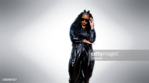 In this screengrab released on October 27, H.E.R. Performs for the BET Hip Hop Awards 2020.
