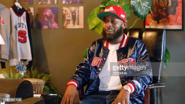 In this screengrab released on October 27, Karlous Miller of 85 South, speaks during the BET Hip Hop Awards 2020.
