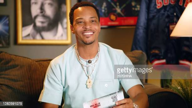 In this screengrab released on October 27, T.I. Attends the BET Hip Hop Awards 2020.