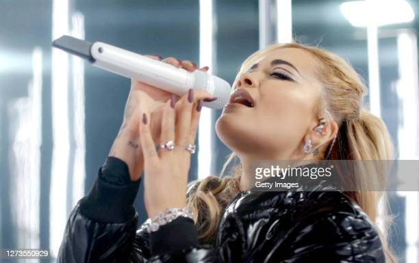 In this screengrab Rita Ora performs during Walk Your Wonderful presented by SHEIN Together on September 19 2020