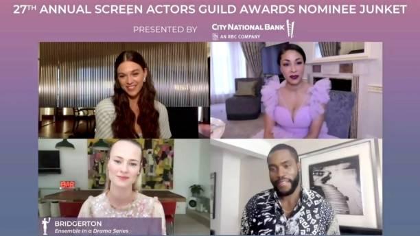 UNS: 27th Annual Screen Actors Guild Awards - Press Junket
