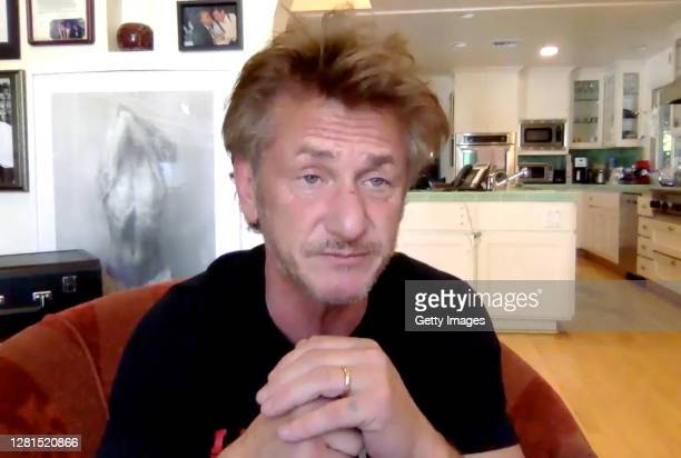 In this screengrab, Sean Penn speaks at the screening of CITIZEN PENN at AFI FEST presented by Audi on October 21, 2020 in Various Cities.