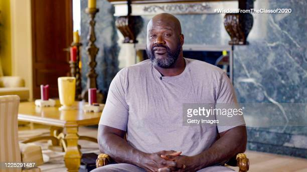 In this screengrab, Shaquille O'Neal speaks during Graduate Together: America Honors the High School Class of 2020 on May 16, 2020.
