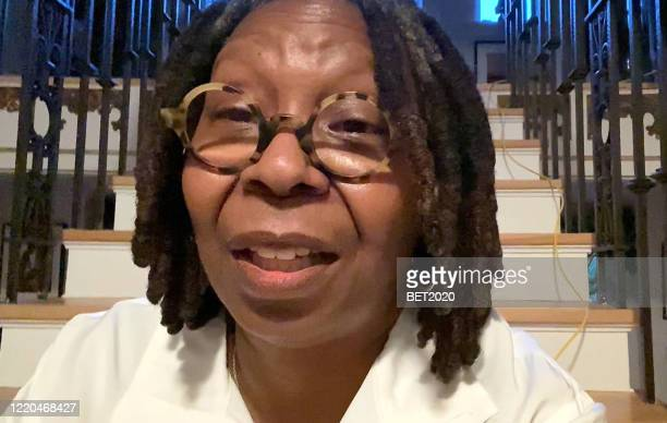 """In this screengrab, Whoopi Goldberg speaks during """"Saving Our Selves: A BET COVID-19 Effort"""" airing on April 22, 2020. """"Saving Our Selves: A BET..."""