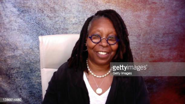 In this screengrab, Whoopi Goldberg speaks during the 2020 Media Access Awards Presented By Easterseals on November 19, 2020 in UNSPECIFIED, United...