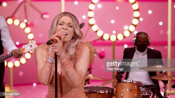In this screenshot released on April 9, LeAnn Rimes performs during A Grammy Salute To The Sounds of Change.