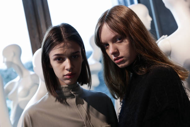 ITA: Simona Marziali - MRZ - Backstage - Milan Fashion Week Fall/Winter 2021/2022