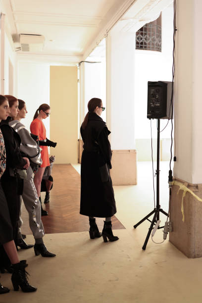 ITA: Budapest Select - Backstage - Milan Fashion Week Fall/Winter 2021/2022