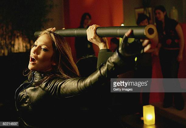 In this still released on February 16 Jennifer Lopez poses during the filming of a new Pepsi advertisement Set in the mystical underworld of Hong...