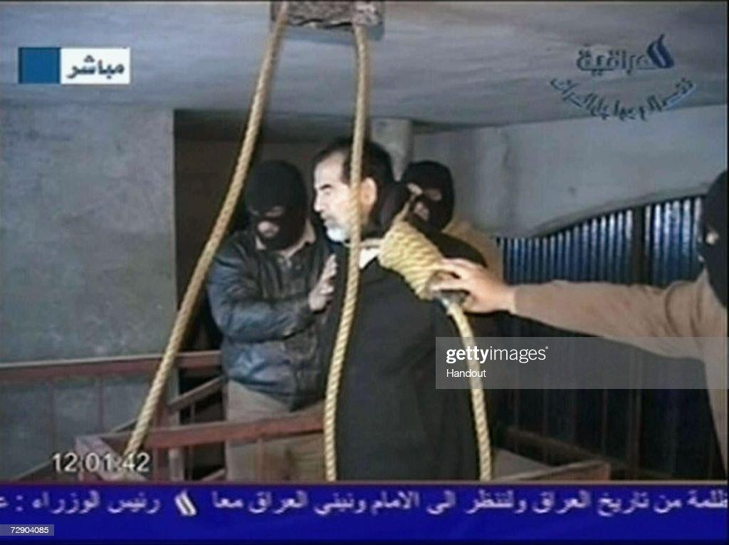 Saddam Hussein Execution Video Released : News Photo