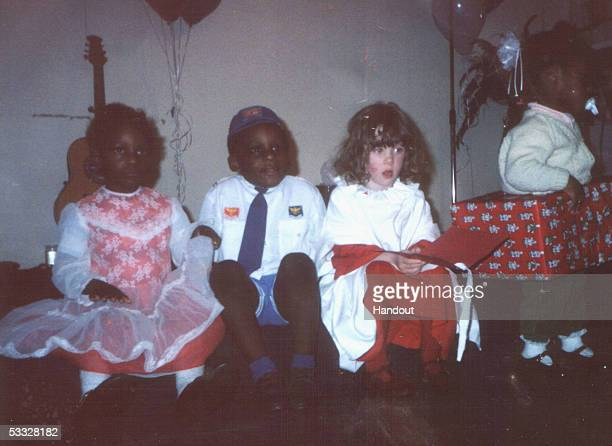 In this undated family handout photograph Anthony Walker is seen second left as a young boy August 5 Liverpool England Anthony Walker died from axe...