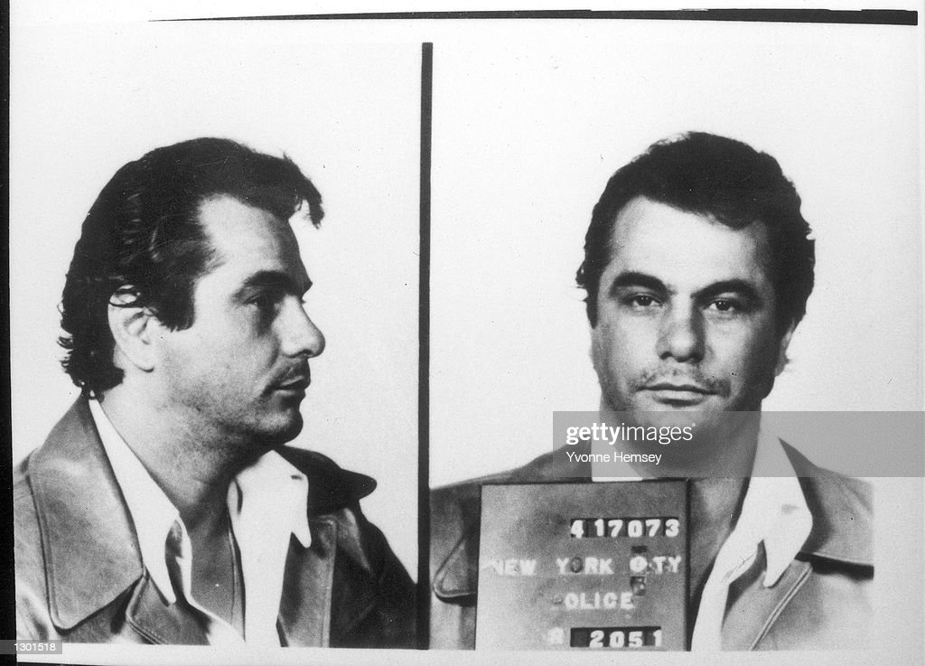 In this undated file photo, Mafia Boss John Gotti, aka 'The Dapper Don,' poses for mugshot in New York City. Doctors at the Federal Prison Hospital in Springfield, MO., announced on June 6, 2001 that Gotti was losing his battle with throat cancer and was expected to die in the coming weeks.