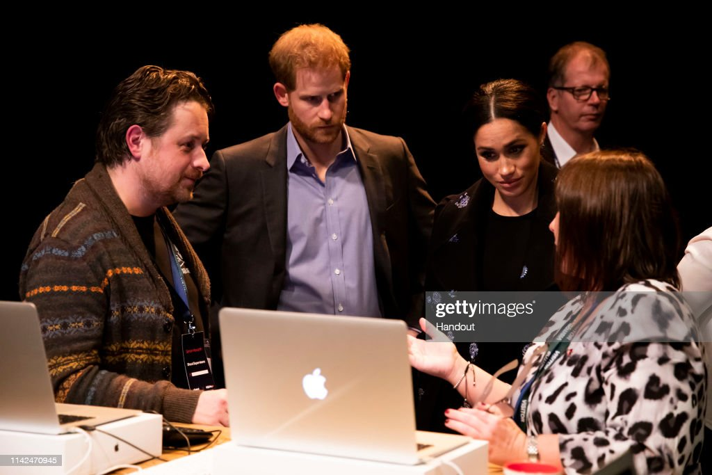 """The Duke And Duchess Of Cambridge And The Duke And Duchess Of Sussex Launch """"Shout"""" : News Photo"""