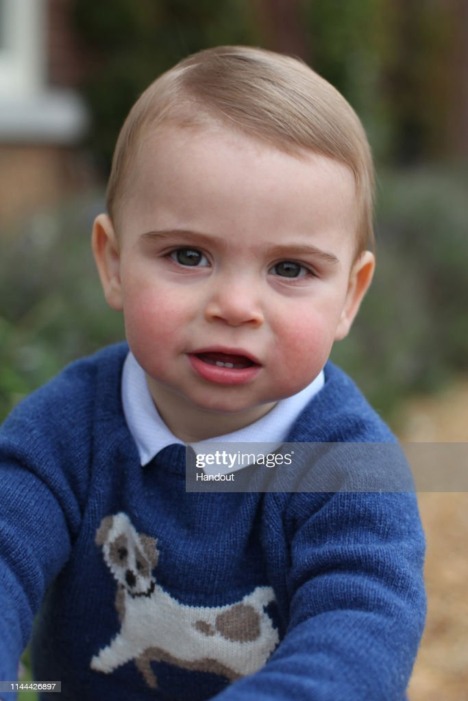 GBR: Prince Louis 1st Birthday - Official Photographs Released
