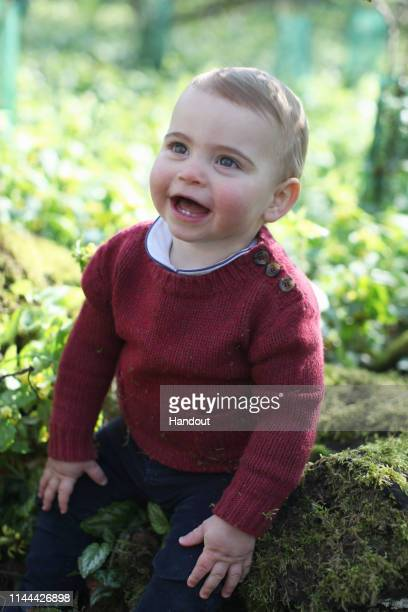 In this undated handout image released by the Duchess of Cambridge Prince Louis taken by his mother the Duchess of Cambridge at their home in Norfolk...