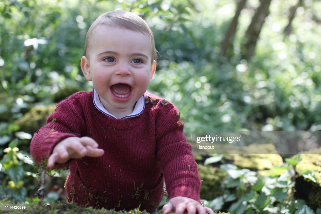 Prince Louis 1st Birthday - Official Photographs Released : News Photo