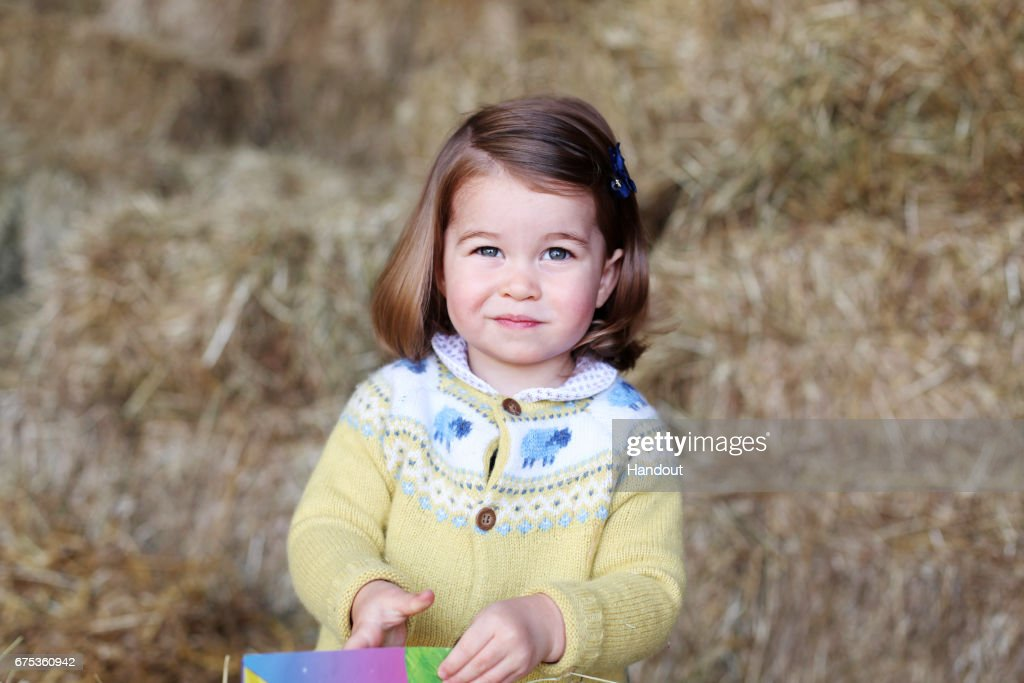 Princess Charlotte - Official Photograph Released : Fotografia de notícias